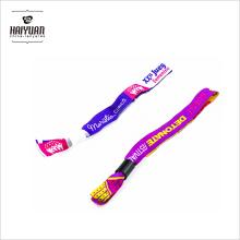Bracelet personnalisé pour événement / Festival tissé avec serrure