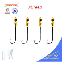 Los aparejos de pesca baratos JHL001 atraen a las cabezas de la plantilla del plomo del cebo artificial