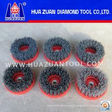 Cepillo de pulido redondo de diamante