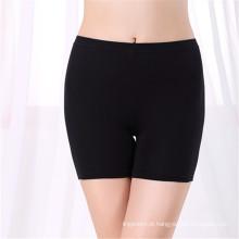 Roupa interior anti-exposta Calças de mulher de alta cintura calças legais de bambu roupa interior de boxer feminina