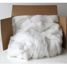 White Polyester Fiber Filling and Batting - 5 Pounds