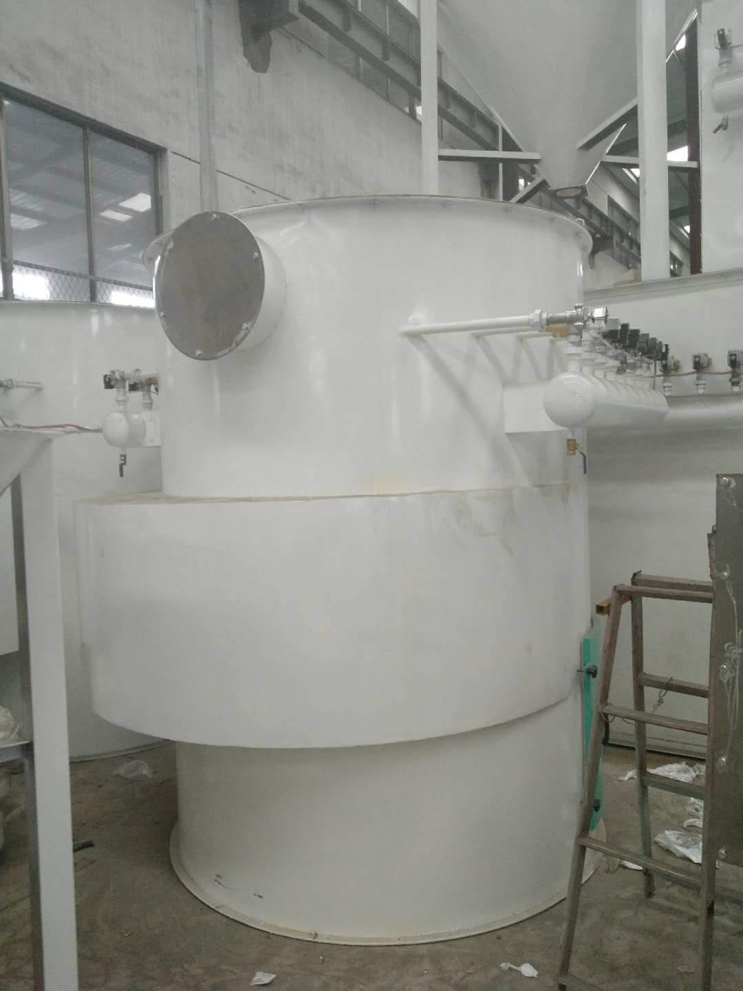 Impulse dust collector equipment