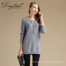 Нестандартная конструкция мода Весна сексуальные женщины 100% мериносовая пуловер вязаный полупрозрачный джемпер свитер