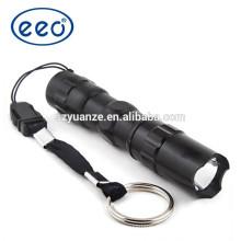 Grossiste à prix abordable lampe torche led en aluminium, mini torche à main, torche LED alimentée par batterie AAA