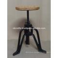 vintage industrial stool