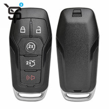 High quality black 5 button folding remote key shell for Ford  key case