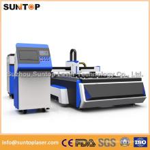 Machine de coupe à laser à fibre 500W / Découpe laser pour découpe en alliage d'aluminium