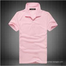 Ladies′ Soybean Cotton Spandex Jersey Polo Shirt