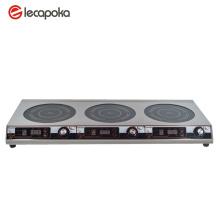 Triple Burner Electric Cooktop
