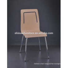 most popular metal frame wood cafe chair