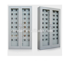 Acrylic glass door transparency locker cell phone charing station