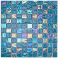 Blue Crystal Glass Gwimming Pool Mosaic Stone