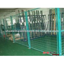 Panneau de clôture en maille encadrée (fabrication et exportateur)