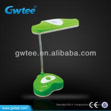 24 lampe d'étude de charge à LED avec deux étapes de réglage de luminosité GT-8807 basses / hautes