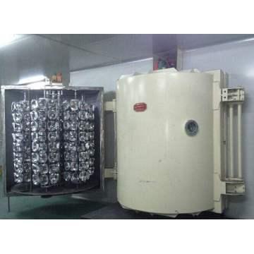 Máquina de revestimento de pvd para tampas de plástico