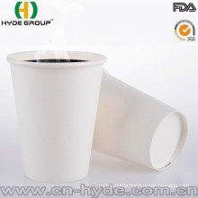 2016 New Product Disposale White Paper Cup with High Quality
