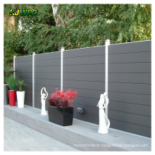 Waterproof WPC Outdoor Fence Anti UV Wood Plastic Composite Fencing for Outdoor Garden Trellis & Gates ECO Friendly Rodent Proof
