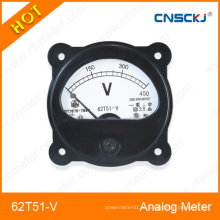 62t51-V Series Meter Аналоговая панель DC Voltmeter 90 * 60