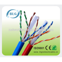 SHENZHEN BLG UTP Cat6 cables retorcidos