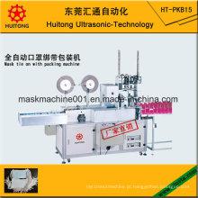 Máscara Ultrassônica Automática com Máquina de Amarrar com Embalagem