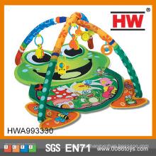 Hot Sale Cotton Frog Shaped Escalada Carpet Crianças
