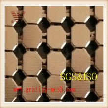 Curtain Wall Wire Mesh/Decoration Metal Curtain Mesh