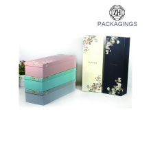 Rigid cardboard gift flower packaging box