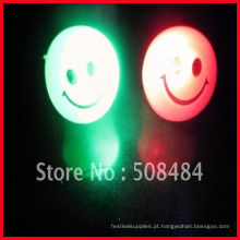 Anel de dedo piscando luz LED