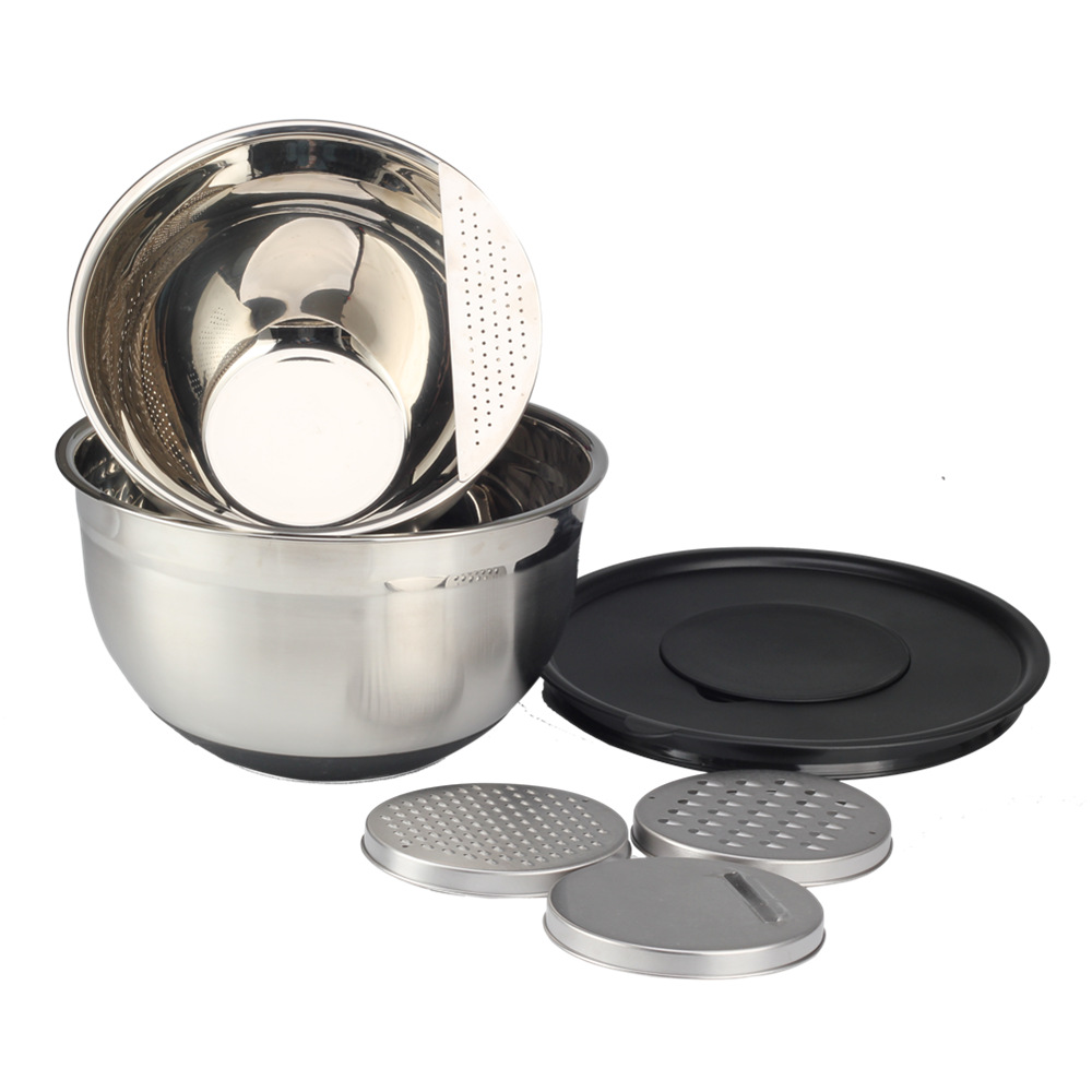 Stainlesssteel Mixing Bowl Set With Greater