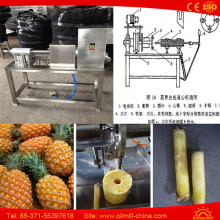 6-12PCS/Min Commercial Pineapple Peeling and Coring Machine