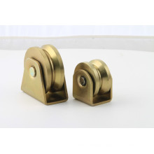 2016 Y/U/V Groove Africa Type Trapezoidal Triangular Pulley Double Bearing Wheels