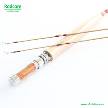 7FT 4wt Hexagon Tonkin Bambus Fliegen Rod