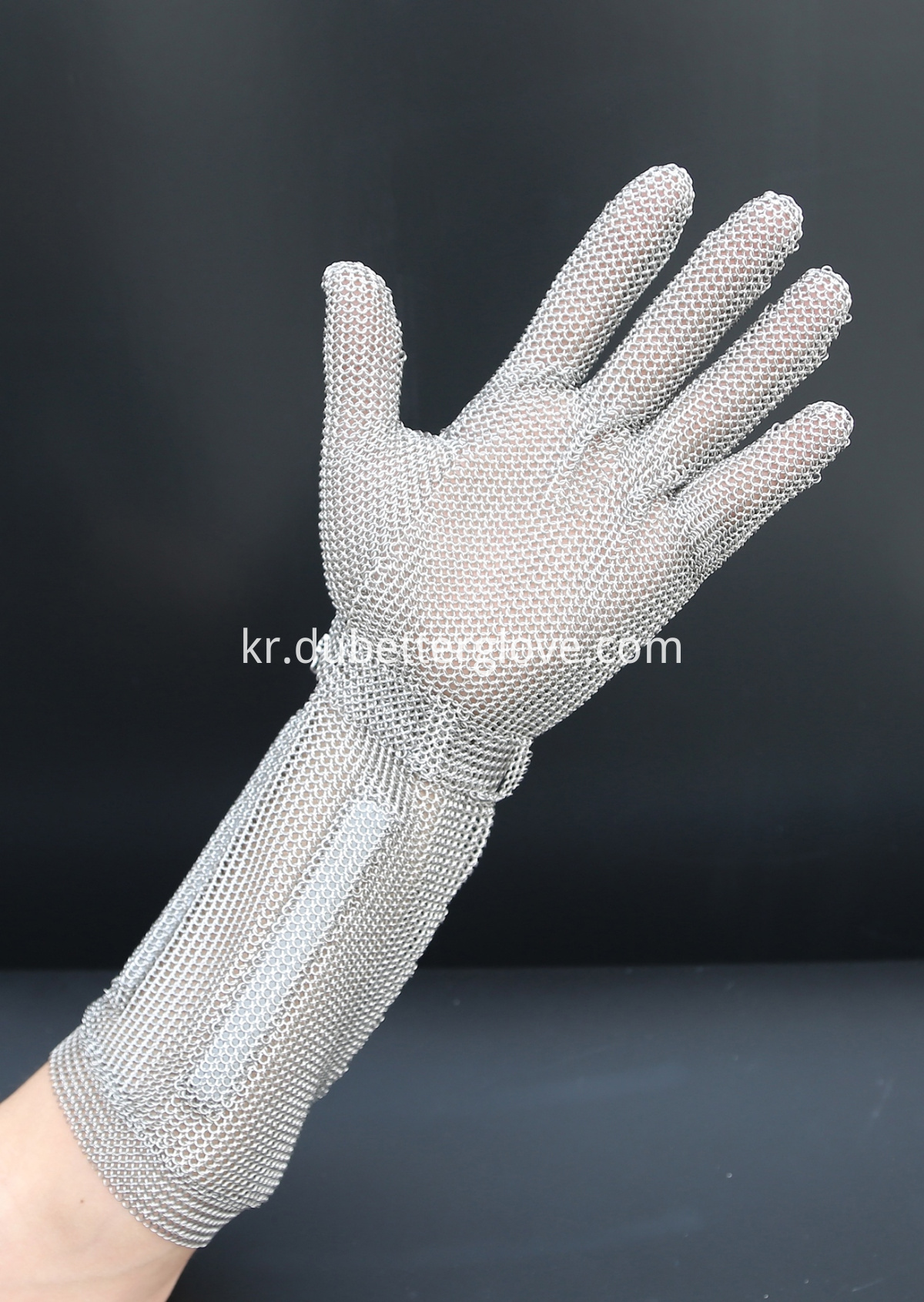 Dubetter stainless steel gloves with hook strap