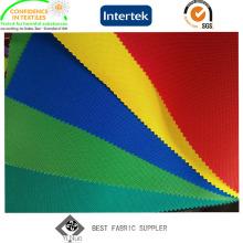 100% полиэстер Оксфорд 600d ткани для палатки с полиуретановым покрытием