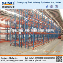 Double Deep Pallet Storage Steel Rack System