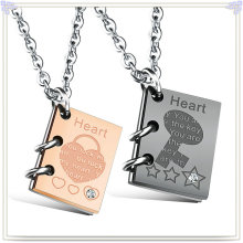 Fashion Pendant Stainless Steel Jewelry Fashion Necklace (NK724)