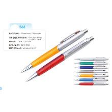 Пластиковые шариковые ручки (568) 1.0 мм