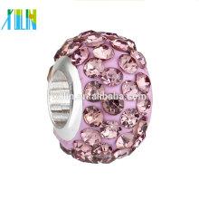 Grânulos grandes de cristal da argila do polímero do furo do cristal de rocha do preço do fabricante
