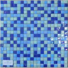 Verre Mosaïque Bleu Iridium