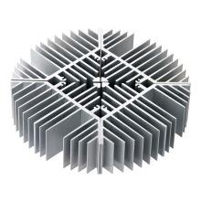 Extrusão de liga de alumínio perfil dissipador de calor
