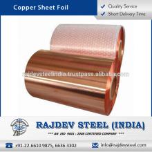 Hoja de hoja de cobre de calidad mejorada al precio al por mayor