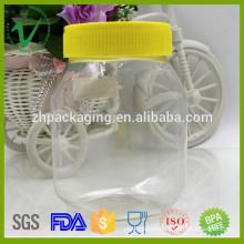 Transparent high-quality PET customized Honey plastic bottle wholesale