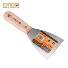 DingQi Scrapper Putty Knife com cabo de madeira