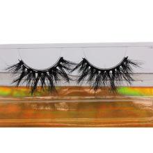 F175H Hitomi 100% Mink Eyelash Strips Long Eyelash soft natural mink eyelashes Fluffy 25mm Magnetic Mink Eyelashes