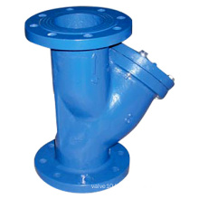 Flanged Type Y-Strainer (Cast Iron, PN16)