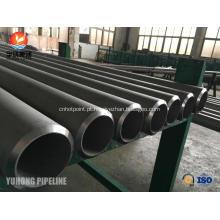 """Tubulação de aço inoxidável ASTM A312 TP347H 6 """"SCH40"""