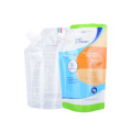 Body Lotion Cream Shapoo Liquid Detergent Packaging Bag Aluminum Foil Suction Nozzle Plastic Screw Cap Packaging Bag