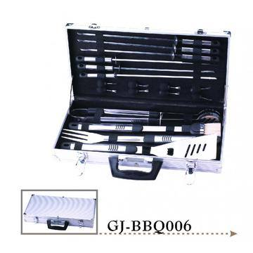 kit de utensilios para barbacoa de acero inoxidable