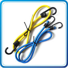Design High Quality Bungee Cord with Black Metal Hook for Activity