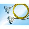 Par del divisor del PLC de la fibra óptica del LC del solo modo